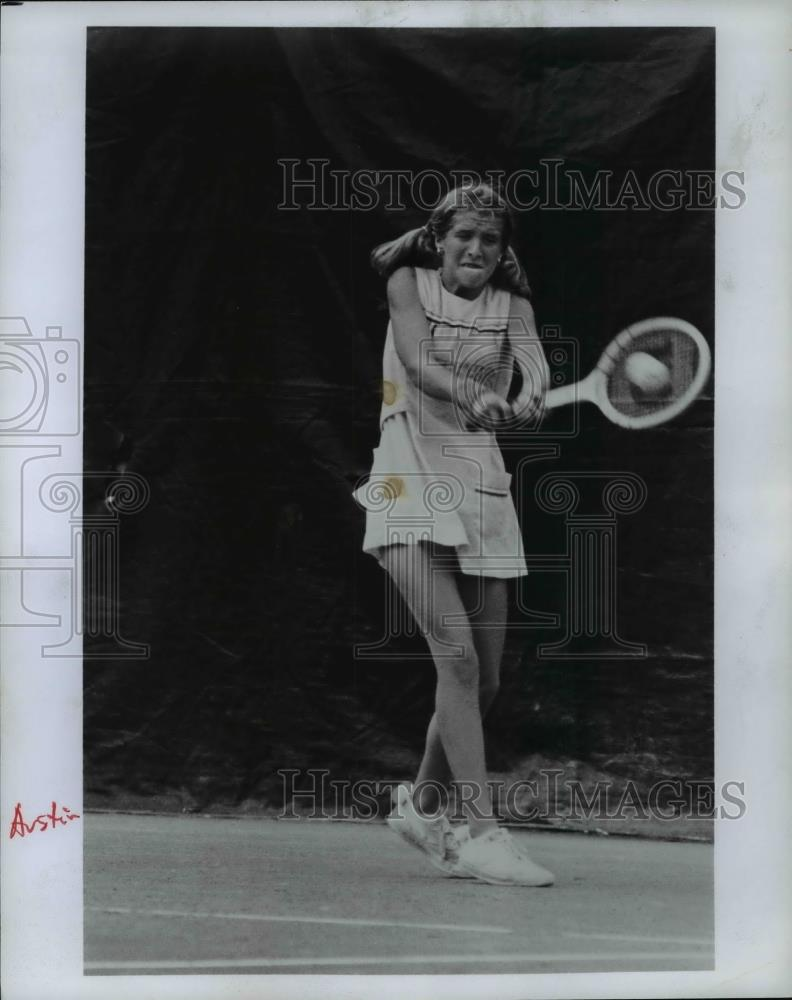Press Photo Tracy Austin- Tennis Player - orc10856 - Historic Images