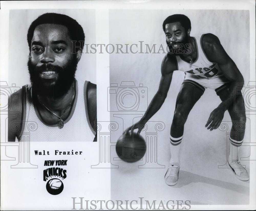 Press Photo Walt Frazier, New York Knicks - orc09997 - Historic Images