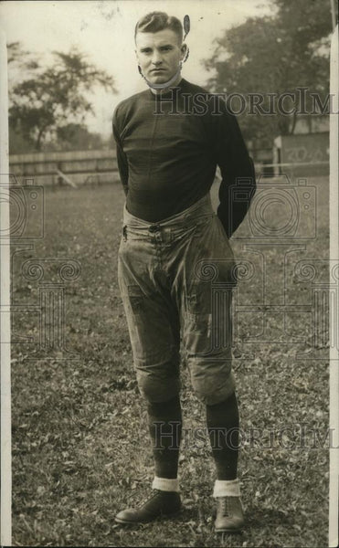 1928 Press Photo Football player Red Kirkman of WJ - net31396 - Historic Images