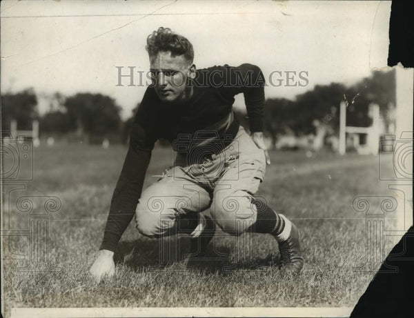 1929 Press Photo C. Fletcher, West Point football team - net34013 - Historic Images