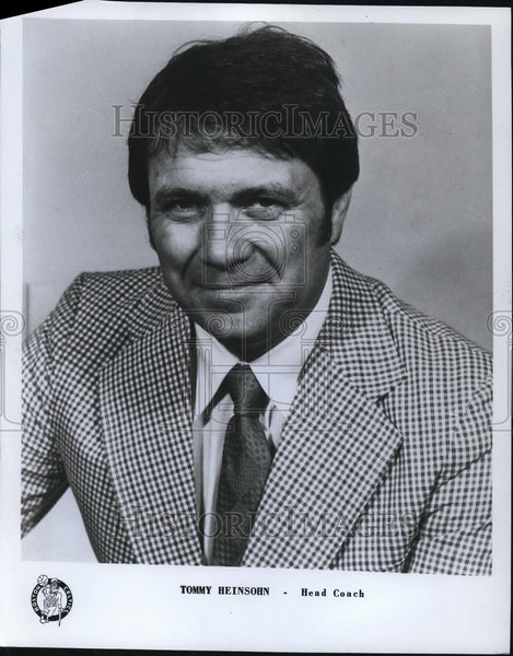 1985 Press Photo Tommy Heisohn, Head Coach - orc05567 - Historic Images