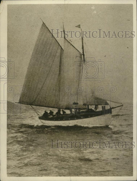 1926 Press Photo Yacht Jublio in a sea race - net30752 - Historic Images