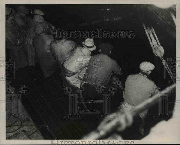 1935 Press Photo Pilchards Off Marshfield, Oregon Coast - orb91347 - Historic Images