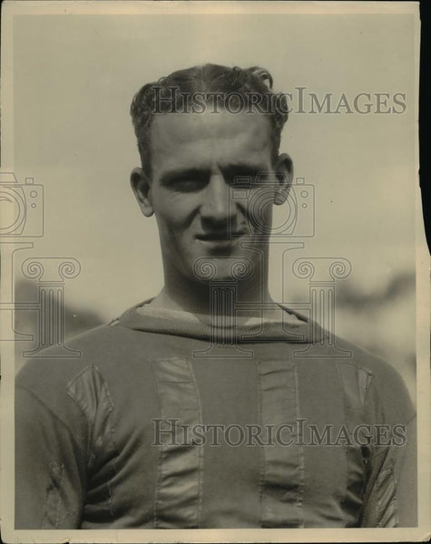 1924 Press Photo Captain John Hawkins, quarterback All-Conference - orc07851 - Historic Images