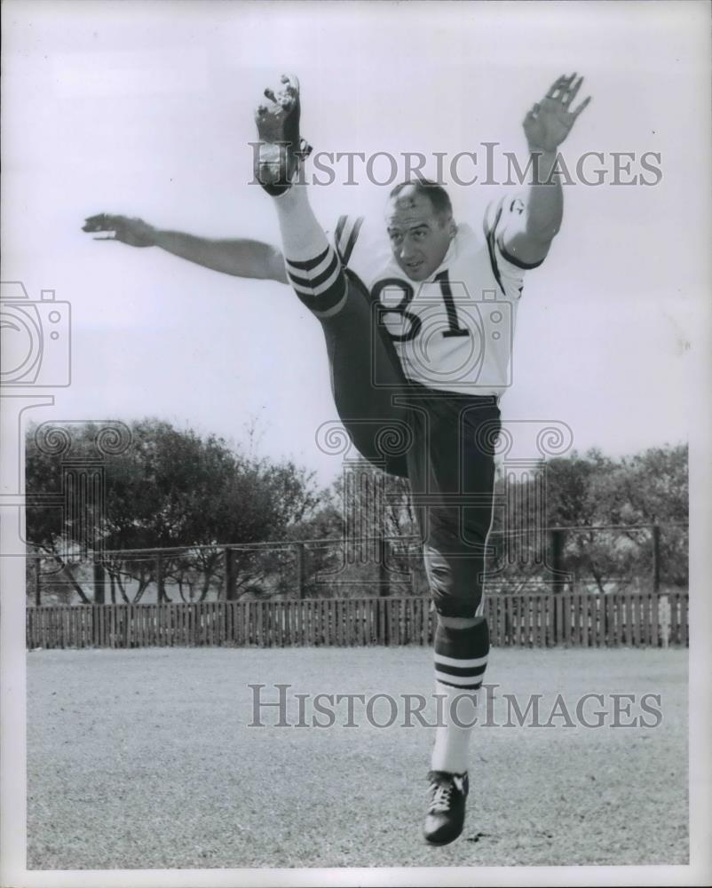 1961 Press Photo John Lee, Football - orc10798 - Historic Images