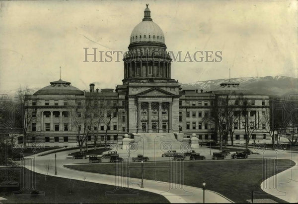 1936 Press Photo The Idaho Capitol Building in Boise - orb18257 - Historic Images