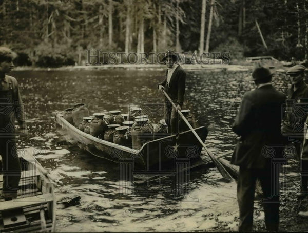 1924 Press Photo Lost Lake Trout planting - orb25432 - Historic Images