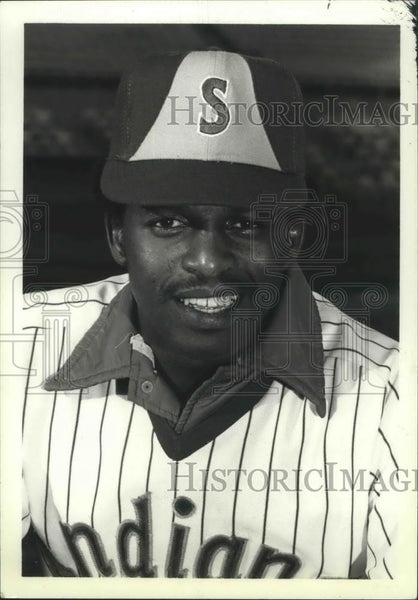 1980 Press Photo Bryan Clark, Spokane Indians baseball player - sps01025 - Historic Images