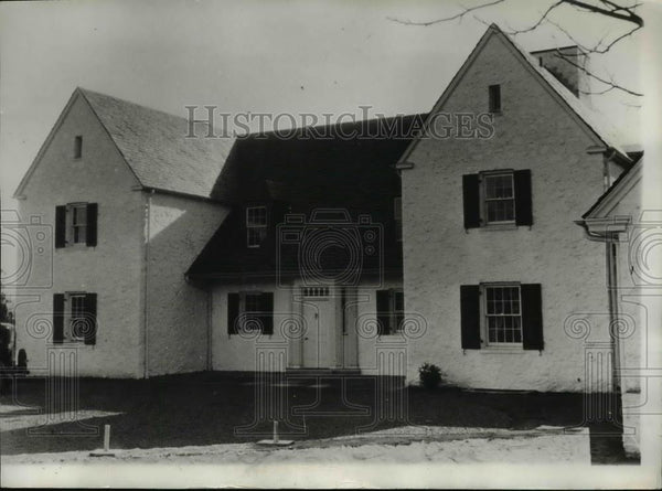 1932 Press Photo Charles Lindbergh Home - spa14035 - Historic Images