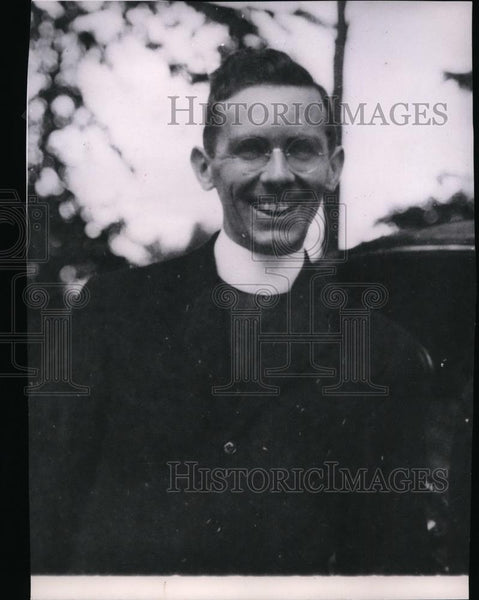 1929 Press Photo Archbishop James Francis Cardinal-Designate McIntyre in 1929 - Historic Images