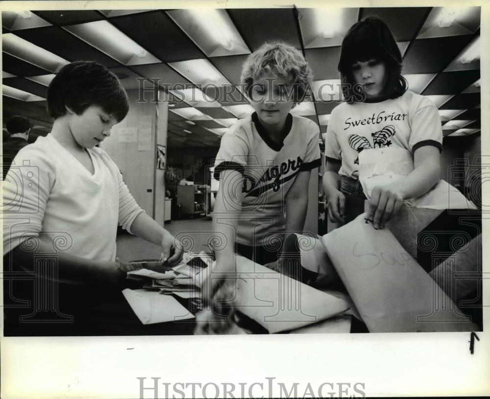 1981 press photo sweetbriar elementary school coupons orb62771 historic images