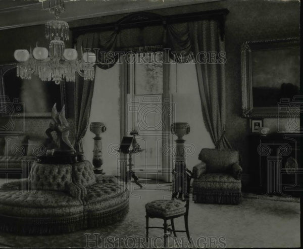 1936 Press Photo The formal parlor, of which a secretary of state once observed - Historic Images