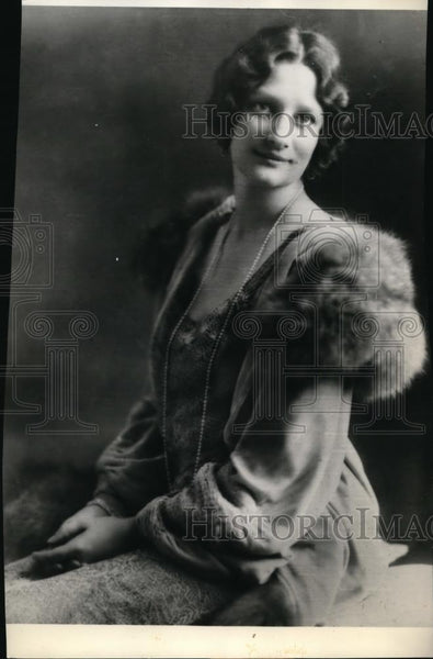 1934 Press Photo The Duchess of Brabant Wife of the Crown Prince of Belgium - Historic Images