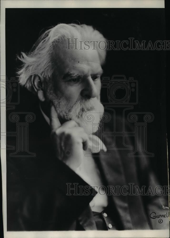 1929 Press Photo Edwin Markham one of the ten preliminary contest winners - Historic Images