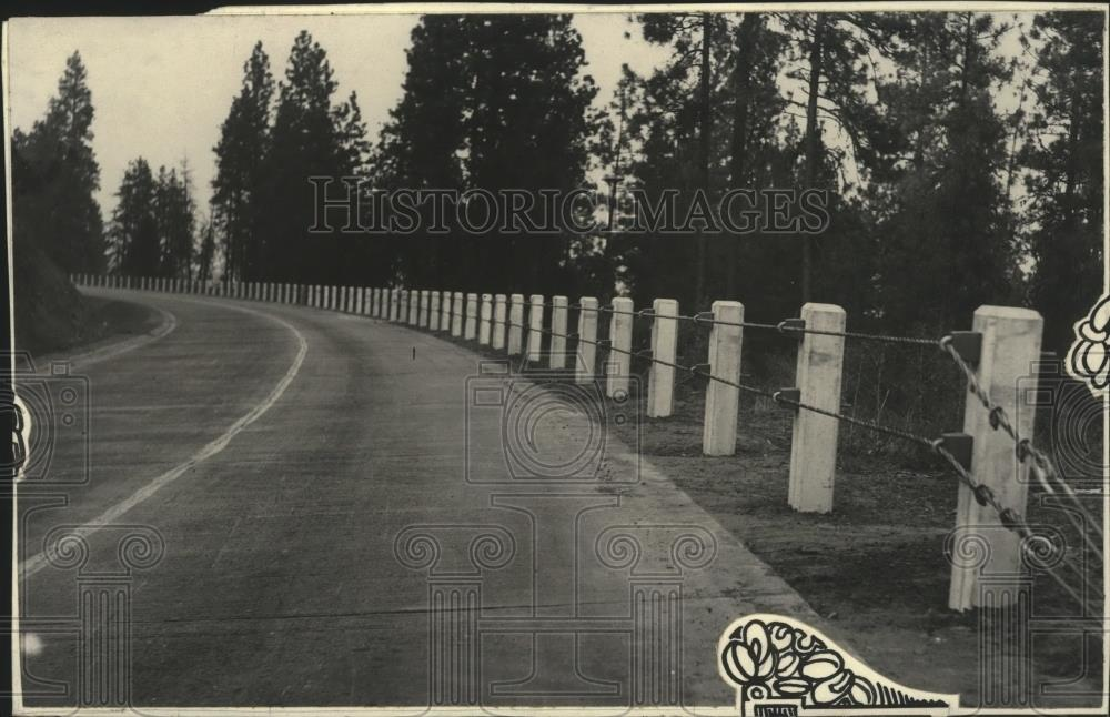 1929 Press Photo Inland Empire Highway - spa48345 - Historic Images
