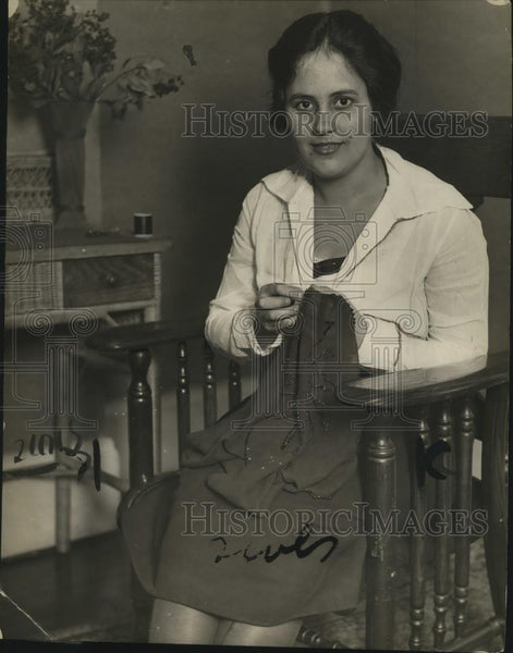 1921 Press Photo Marjorie Andre - neo07038 - Historic Images