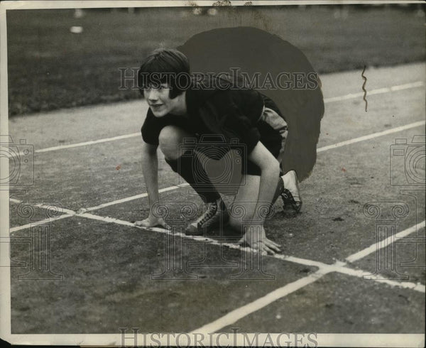 1926 Press Photo Marion Laiper Sprint Champion of Vasser College - neo04203 - Historic Images