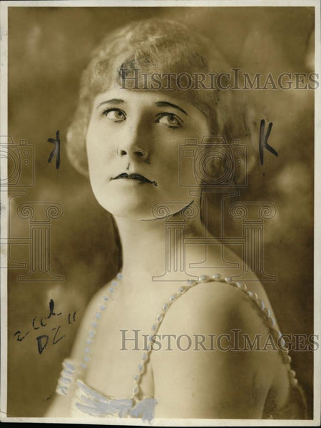 1921 Press Photo Mrs. H. Wallace Parker - neo02602 - Historic Images