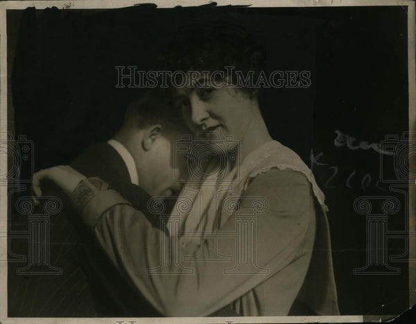 1923 Press Photo Marie Packard dance teacher in San Francisco  - neo07811 - Historic Images