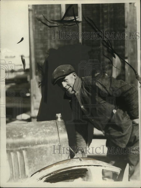 1926 Press Photo Hans Hansen, Constable for 4 Years, Never Had Anything to do - Historic Images