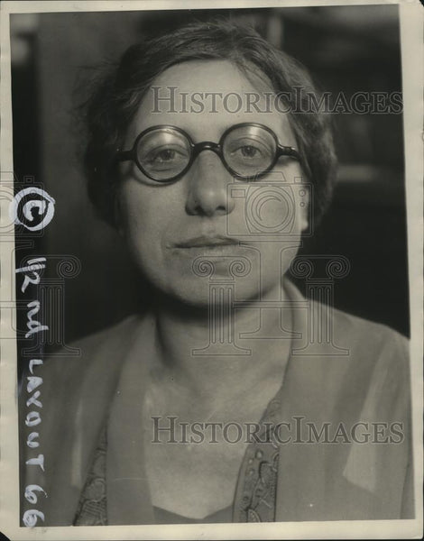 1927 Press Photo Mary E. Srega of First Catholic Slovak Ladies Union - neo07194 - Historic Images