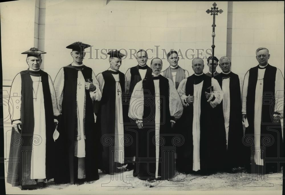 1929 Press Photo Religious officials - spa56475 - Historic Images