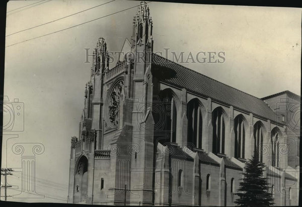 1932 Press Photo Cathedral of St. John the Evangelist - spa56753 - Historic Images