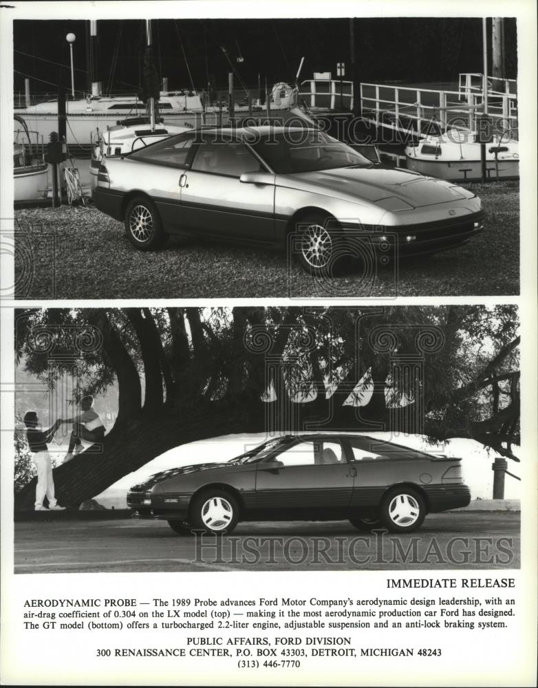 Press Photo Ford Motor Companys Lx Gt Model Coupe Spa Historic Images