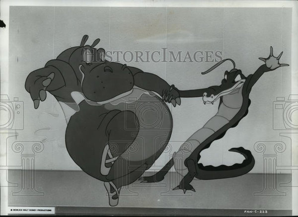 1969 Press Photo A scene from Walt Disney Productions, Fantasia. - spp09925 - Historic Images