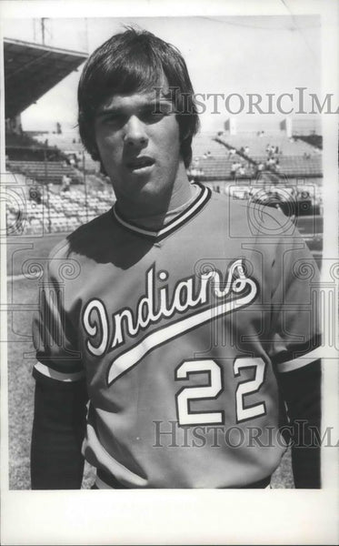 "1979 Press Photo Spokane Indians baseball player, Bryan ""Moose"" Haas - sps05512 - Historic Images"
