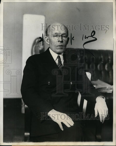 1928 Press Photo New York To Direct Queens Sewer Inquiry in Place of Scudder. - Historic Images