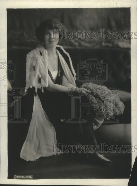 1921 Press Photo Marjorie Geim Named Most Prominent Debutante in Navy Circles - Historic Images