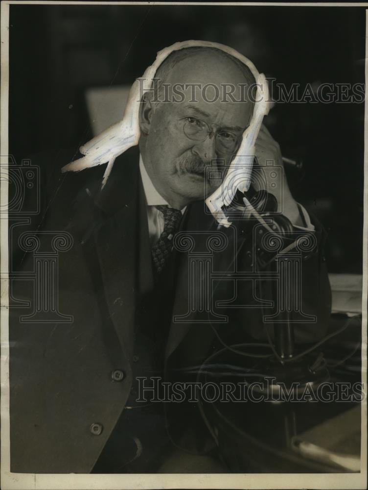 1924 Press Photo Mr. H.B Thayer Pres. American Telephone & Telegraph Co. - Historic Images