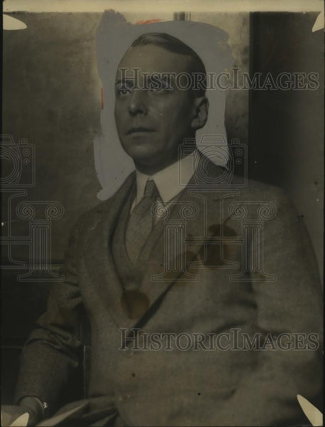 1927 Press Photo John T. Rogers, St. Louis Post Dispatch Reporter - neo11387 - Historic Images