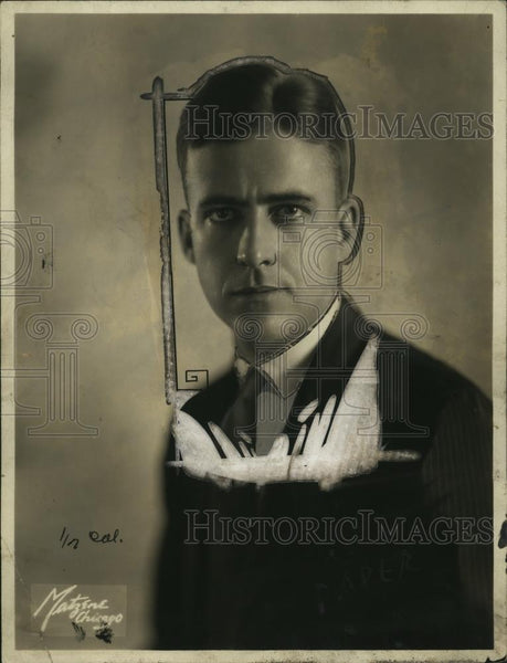 1923 Press Photo George W.H. Butt  - neo11406 - Historic Images