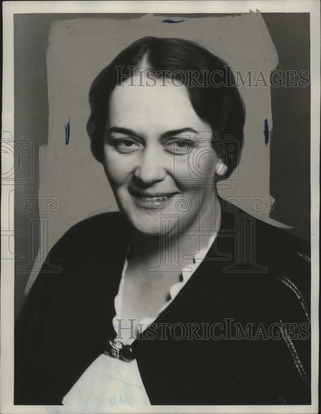 1923 Press Photo Mrs O J Kechele Mayflower guild program Cleveland - neo12929 - Historic Images
