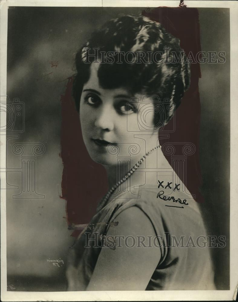 1919 Press Photo Soprano Vahrah Hanbury - neo13032 - Historic Images