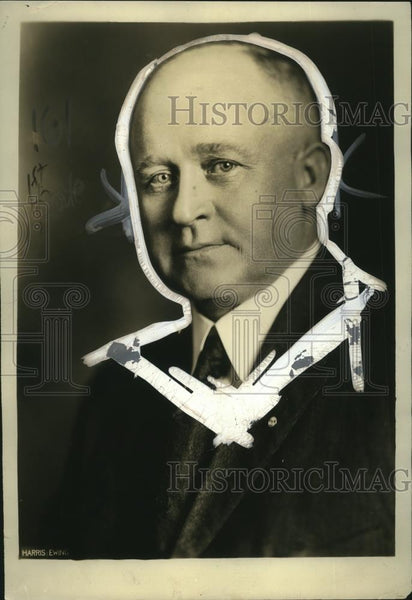1922 Press Photo JP Noonan President of Brotherhood of Electrical Workers - Historic Images