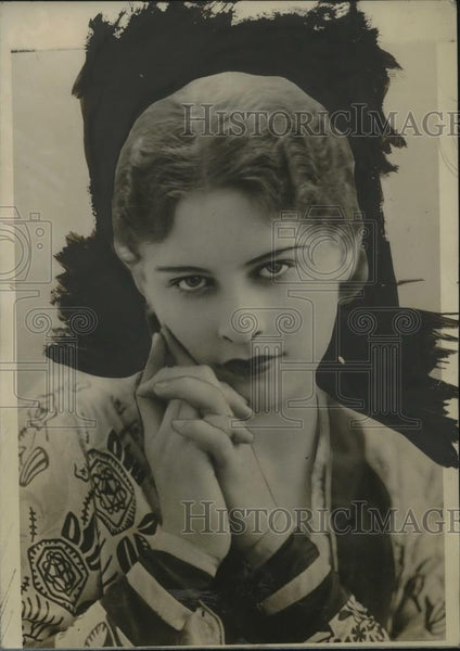 1927 Press Photo Alyn Pacaud, british beauty - neo18908 - Historic Images