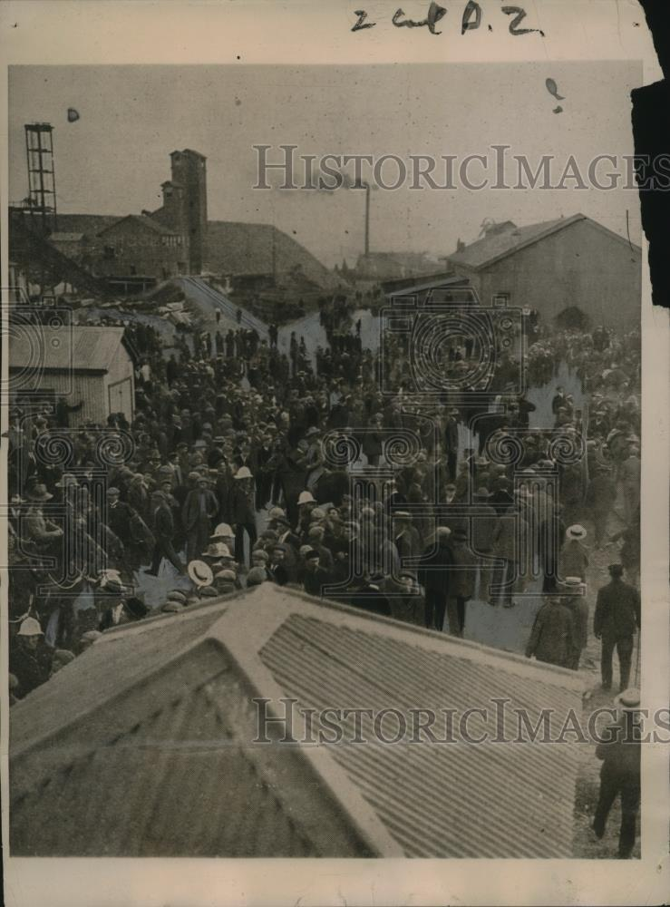 1922 Press Photo South African Uprising of Mine Workers in Rand District - Historic Images
