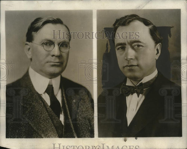 1926 Press Photo W.N. Doak, VP & Legislative Rep of Brotherhood of R.R. Trainmen - Historic Images
