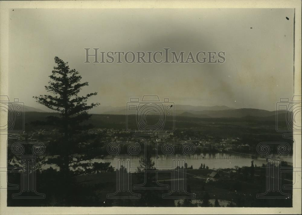 1929 Press Photo Priest River near Priest River Idaho in 1929. - spa63776 - Historic Images