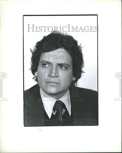 1979 Press Photo Hector Marroquin Mexican Activist - Historic Images