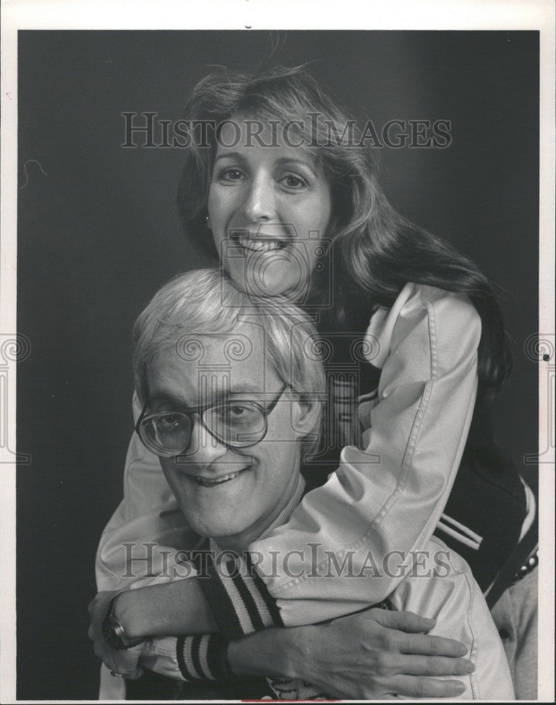 1984 Press Photo Dan Greenburg Suzanne O Malley Historic Images