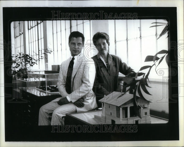 1993 Press Photo Andres Duany architect - Historic Images