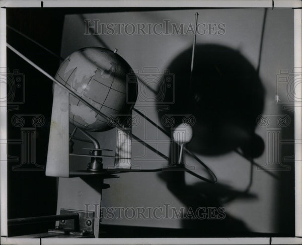 1950 Press Photo Moon's Surface - Historic Images