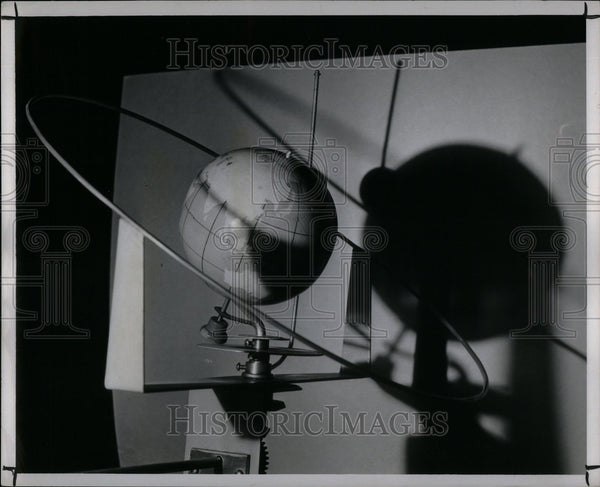 1950 Press Photo Moon Eclipse - Historic Images