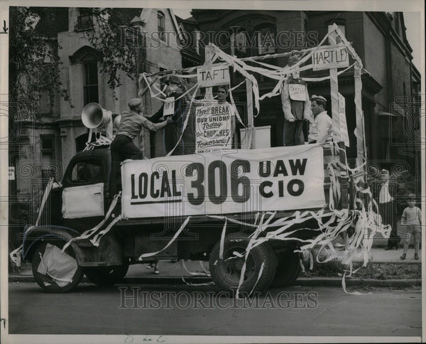 1947 Press Photo Labor Day - Historic Images