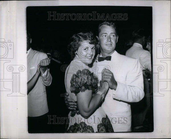 1950 Press Photo Alan Ladd - Historic Images