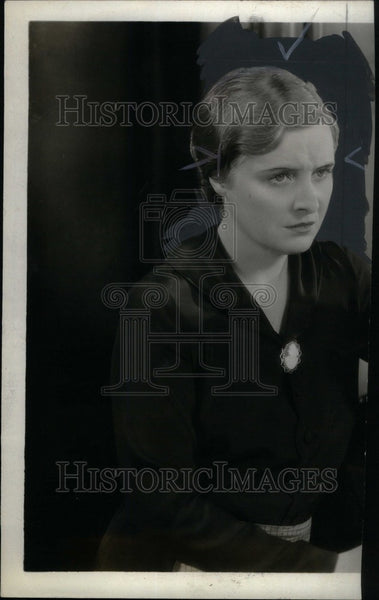 1932 Press Photo Dorothy Peterson - Historic Images